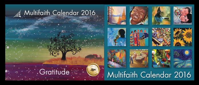 2016 Multifaith Calendar Now Available