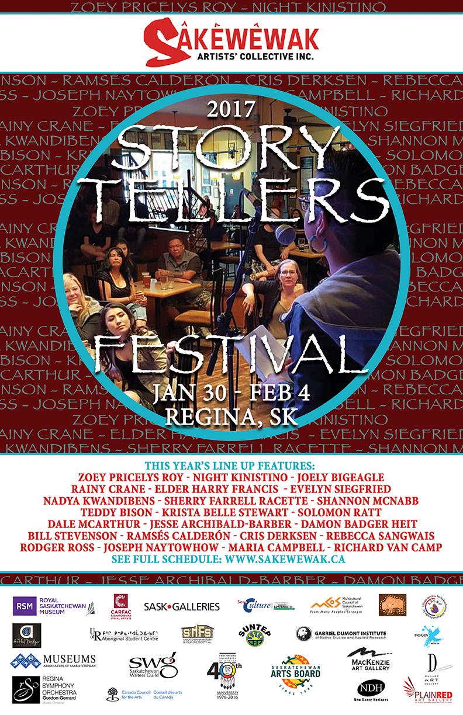 Sakewewak Annual Storytellers Festival