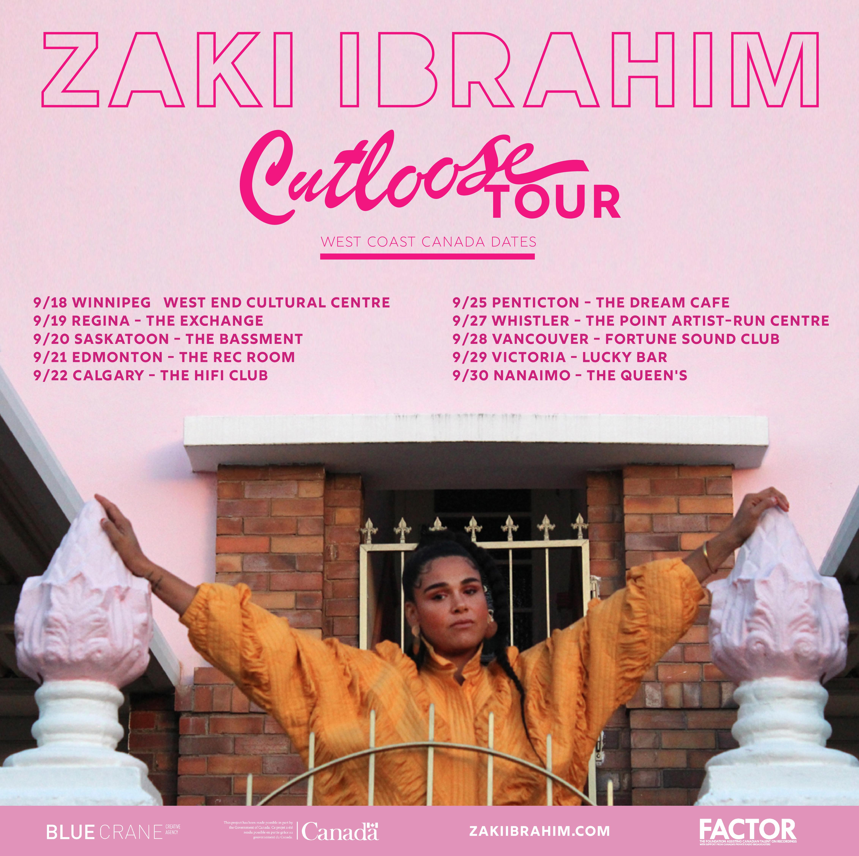 ZAKI IBRAHIM CONCERT + SHOW (South African/Canadian singer)