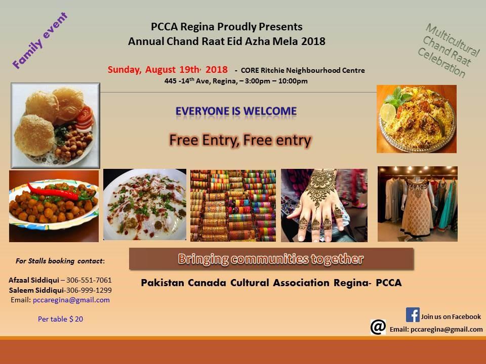 Multicultural Chaand Raat Eid Azha Mela