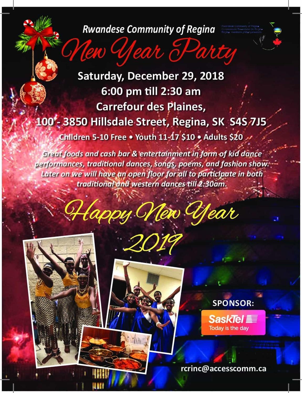 Rwandese Community of Regina - New Year's Celebration